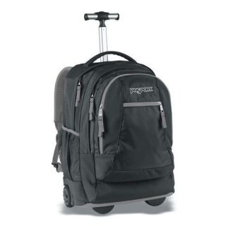 Driver 8 Rolling Wheeled Backpack School Book Bag Wheels TN89