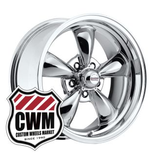 Chrome Wheels Rims 5x4 75 Lug Pattern for Chevy Camaro 67 81