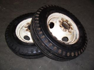 Dodge Ford Chevy 8 Lug Front Tires Rims for 1 Ton Trucks