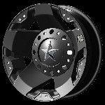 16 Inch Black Wheels Rims Dodge RAM 3500 Chevy Silverado Ford F350