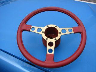 77 81 Pontiac Trans Am Firebird Skybird Red w Gold Spoke Formula