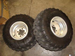90 89 88 87 TRX250X Honda Fourtrax Rear Wheel Rims Tires ATV 9