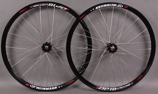 36h Silver Spokes Black Hub Track Fixed Gear Wheels Wheelset