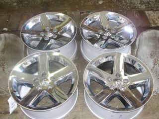 12 Dodge RAM 1500 Pickup 20 5 Spoke Chrome Wheels 20x9 Set 4