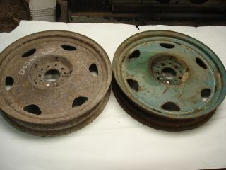 20 inch Dodge High CLEARANCE Wheels Divco Scta 32 Ford Hot Rod