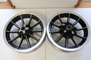 FL Touring 1994 10 Spoke Black 16 x3 Front Rear Wheels Wheel