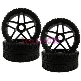 Buggy Street Foam Rubber Tyres Tires Wheel Rims Black 85B 803