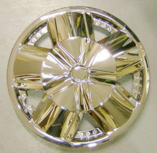 Piece Set Chrome 14 inch Hub Caps Rim Wheel Covers