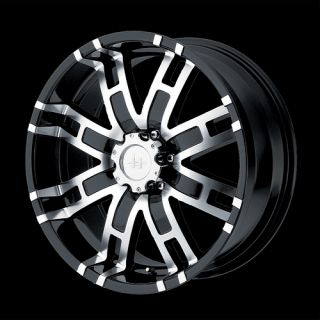 17 inch Black Truck Wheels Rims 5 Lug Dodge RAM 1500 Ford F 150 Truck