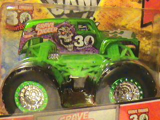 Hot Wheels Monster Jam Grave Digger Spectraflame 30th Anniversary