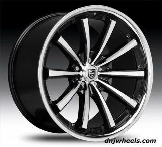 CVX 55 Dodge Charger Challenger Chrysler 300 300C Concave Wheels Tires