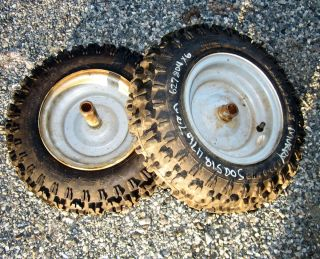 Craftsman Noma Murray Snowblower Rim Tire 4 8 x 8 NHS Pair 8 627804x6