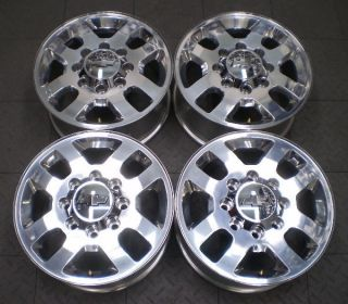 GMC 2500 3500 Silverado HD 18 Factory OE Alloy Wheels Rims 4