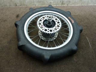 94 Honda CR250 CR 250 Rear Wheel Rim Paddle Tire Rotor Axle Hub