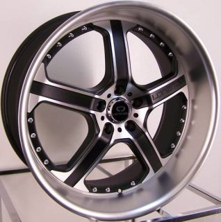 20x8 5 20x10 Black Lorenzo Wheels Rims 5x4 5 Mustang