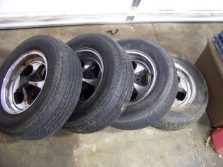 Keystone Aluminum 13 4 LUG Crager Mag Wheels RARE Mustang Ford Pinto