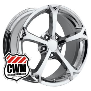 Corvette C6 Grand Sport Replica Chrome Wheels Rims Fit C5 2000
