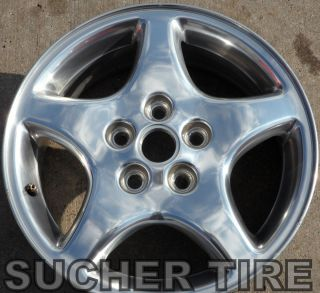 GRAND PRIX 97 99 16 POLISHED FACTORY OEM ORIGINAL WHEEL RIM 6529 USED