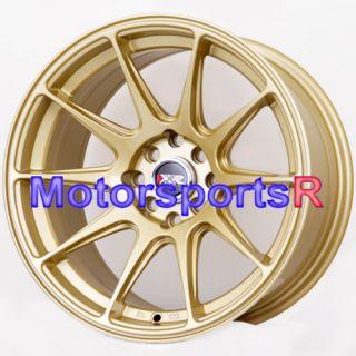 XXR 527 Gold Concave Rims Wheels Stance 95 98 Nissan 240sx S14 4 lugs