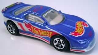 Hot Wheels 93 Camaro Race Team Lighter Blue Metalflake 5sp