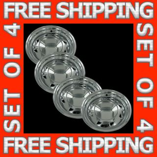 94 04 Chevy S10 GMC Sonoma 15 Chrome Wheel Skins Hubcaps Covers Set