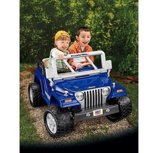 Fisher Price Power Wheels Jeep Rubicon Ride On