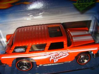 2002 Hot Wheels 106 Chevy Nomad Redlines Series Race Car 4 4 Free SHIP