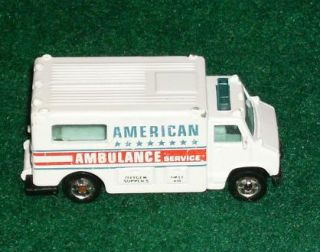Hot Wheels Ambulance Fire Dept Truck