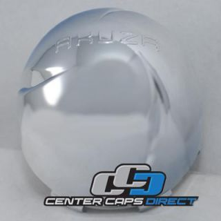 PCW 2 Arc 2 S109 09 Akuza Wheels Chrome Center Cap