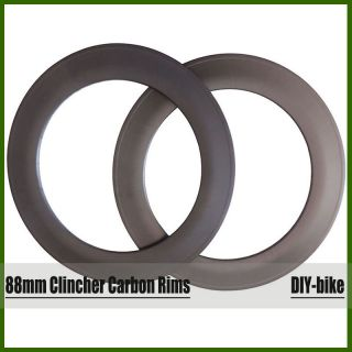 700c Bicycle Road Cycling Rim Carbon Fiber Road Fiber Rim