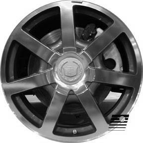 Refinished Cadillac SRX 2003 2005 18 inch Wheel Rim O