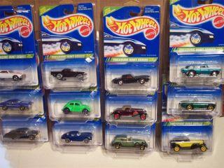 1995 Hot Wheels Treasure Hunt Set