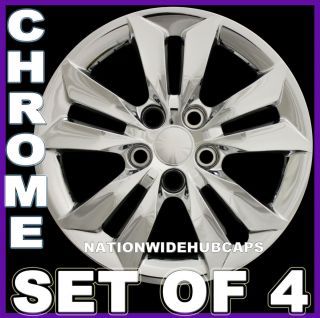 Chrome Bolt on Wheel Covers Rim Hub Caps Hubs 5 Lug Steel Rims