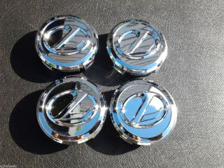 Set 4 Lexus Chrome Wheel Center Cap 74162 ES300 WCA F104 10 2 5