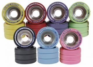 Speed Skate Wheels Sure Grip Interceptor V Drive Wheels Quad Roller