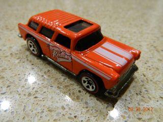 Hot Wheels Redlines Chevy Nomad Mattel Malaysia 1969 Used