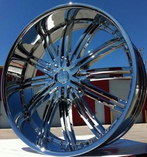 22 Redsport 99 Wheels Rims 5x127 Chevy Impala SS Caprice Roadmaster