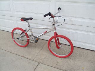 97 Old School PowerLite XL BMX Bike Redline Wheels