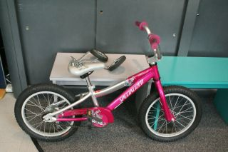 Specialized Hotrock 16 Girls Bike with Training Wheels