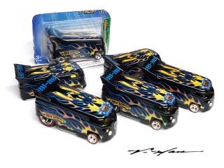 Hot Wheels Treasure Hunt TH Drag Bus Lot of 6