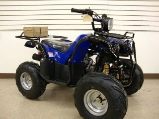 Utility Powersport Kids 110cc ATV Full Auto 7 Wheels with Rack