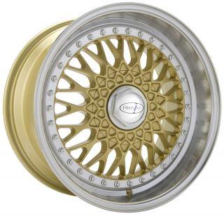 Privat Remember 17x8 10x100 112 E36 Gold Machine Wheels