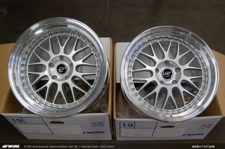 Brombacher 19 Mesh Step Lip JDM Wheels for Audi and Benz 5x112