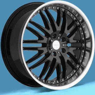 Menzari Wheels Z04 M Sport 5x112 ET35 Gloss Black 4 New Rims