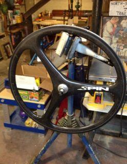 Spin Carbon Fiber Front Wheel Ceramic Rim Spinergy