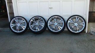 19 Chrome Rims Wheels 5x114 Acura Honda Toyota Lexus Nissan Infinity