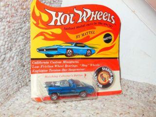 OLD HOT WHEELS RED LINE HAIRY HAULER DIECAST CAR MINT BLISTER PACK