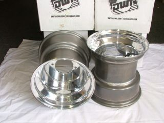 Yamaha Banshee 350 YFZ350 Wheels Rims Drag Race Douglas 10x10 Set 2