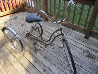 Antique Schwinn Vintage Adult 22inch Rims Tricycle Very Good Cond