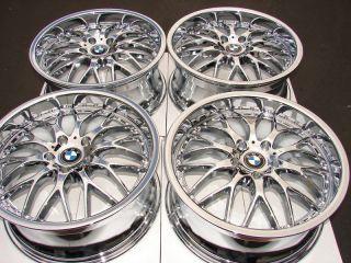 18 5x120 Tires Chrome Rims BMW 135 325 Z3 318 328 330 Z3 Z4 CTS New 5
